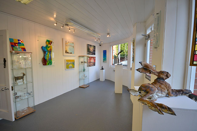 Inside The Forge Gallery, Worthing